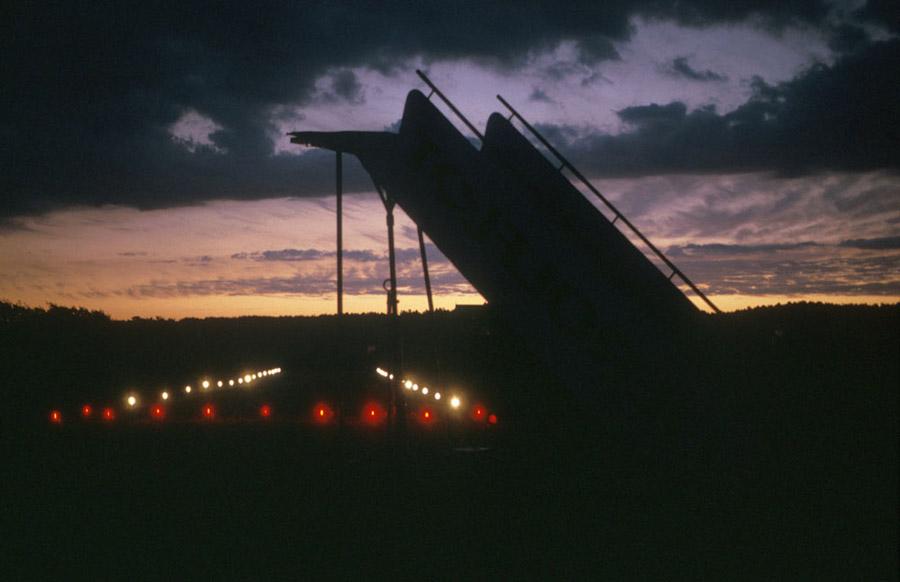 vliegtuigtrap van Oerolflot