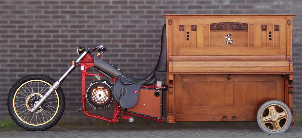 Half motor, half piano: de Stealth Piano van Paul Rutget Bastiaan