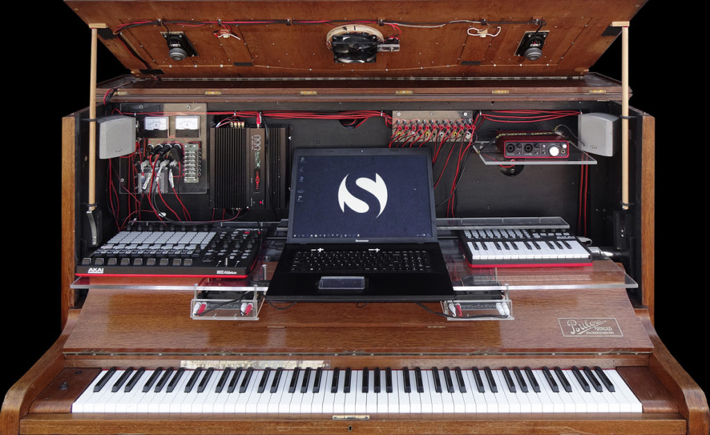 Stealth Piano, toetsen, digitaal, DAW